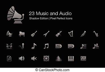 Music Audio Sound Icons