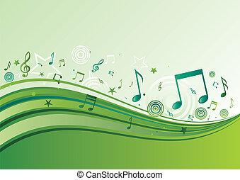horisontal music banners