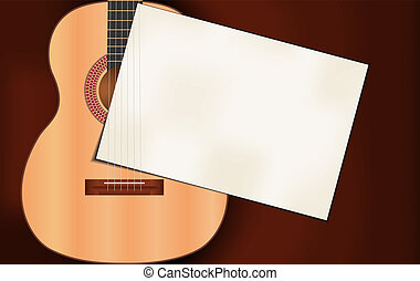 Invitation card for music performance or concert isolated vector music background thecheapjerseys Image collections