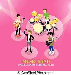 music band concept
