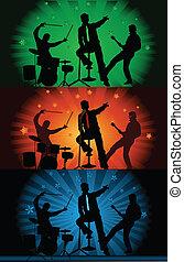 Music band - concert