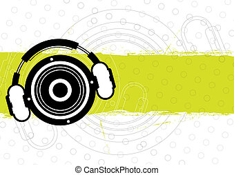 music banner design