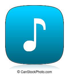 music blue icon