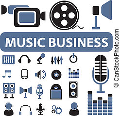 music business signs
