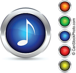 Music button.