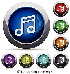 Music button set