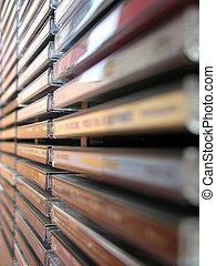 Music cd stack