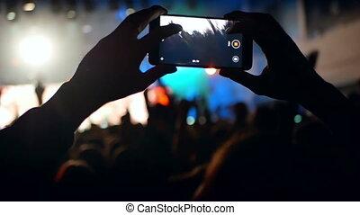 Music concert phone camera