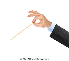 Music conductor hand