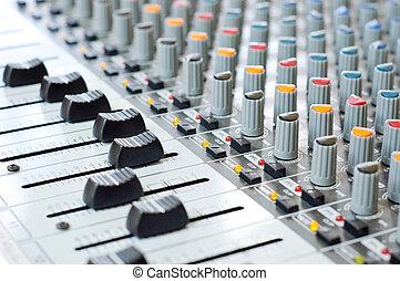 Music control panel device