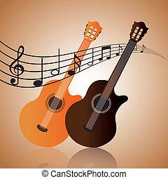 music design  - music graphic design , vector illustration