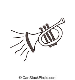 Music design over white background, vector illustration
