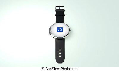 Music download internet service function for Smart watch