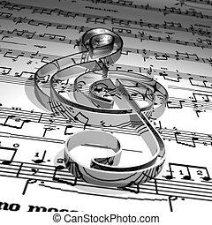 Music symbol & Music sheet