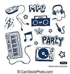 Music elements set
