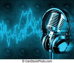 Music Energy (+clipping path for easy placing your text behind the object if needed)
