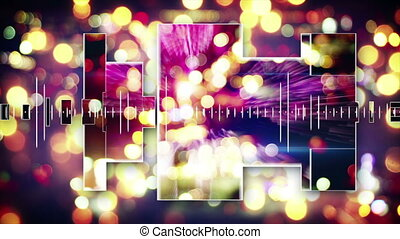 music equalizer festive loopable background