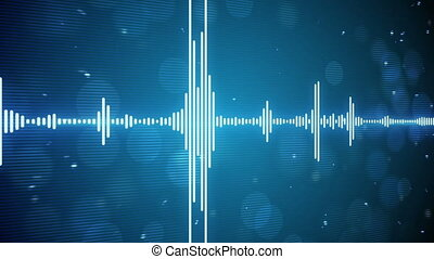music equalizer seamless loop background
