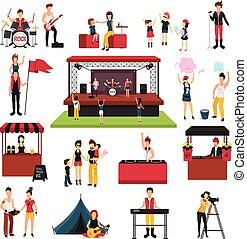 Music Festival Elements Set