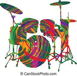 Music festival. Vector illustration made in adobe illustrator