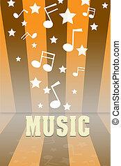 music., fond