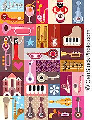 Music Graphic Design