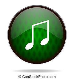 music green internet icon