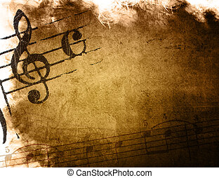 music grunge backgrounds - perfect background with space for...