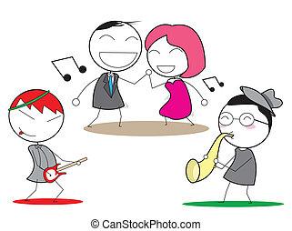 music happy