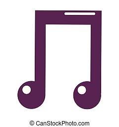 music icon cartoon