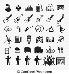 Music Icons set 2.