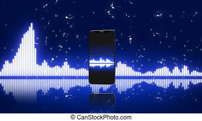 Music in your phone, the equalizer in the smartphone. 6 -...