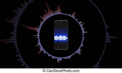 Music in your phone, the equalizer in the smartphone. 7 -...