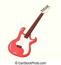 Music instrument - electric guitar