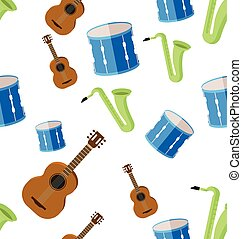 Music instrument pattern