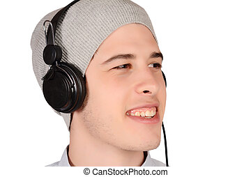 music., kihallgatás, ember