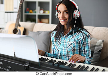 Music lessons and interesting learning at home.
