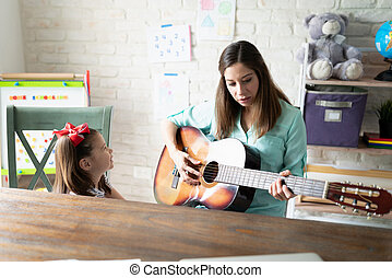 Music lessons at home