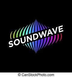 Music Logo concept Sound Wave, Audio Technology - an amazing...