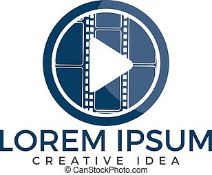 Music logo design.