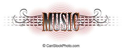 music logo - Music logo in my interpretation