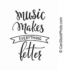 Music Connects People Shirt Quote Lettering Music Connects People