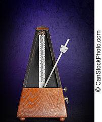 music metronome - oldfashion wood metronome music tool
