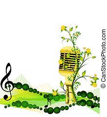 music - microphone