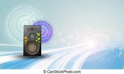 Music motion background