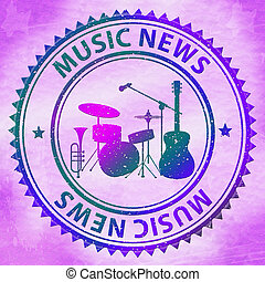 Music News Shows Social Media And Article