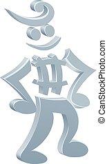 Music Note Mascot