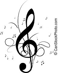 Music Notes Clef