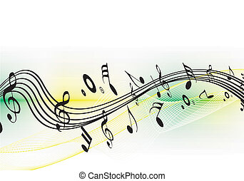 Music notes