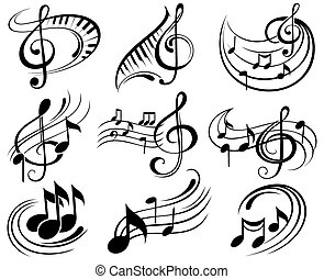 Music notes - Music elements
